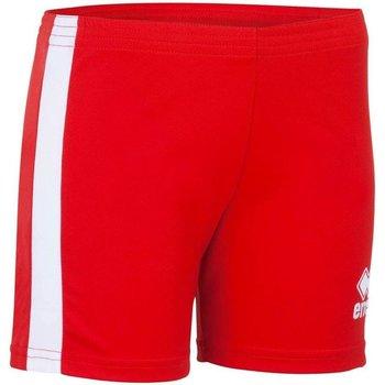 Clothing Women Shorts / Bermudas Errea Short femme  Amazon rouge/blanc
