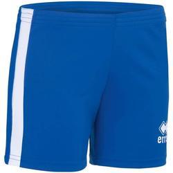 Clothing Girl Shorts / Bermudas Errea Short femme enfant  Amazon bleu marine/jaune