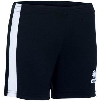 Clothing Girl Shorts / Bermudas Errea Short femme enfant  Amazon noir/blanc
