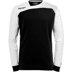 Clothing Boy Sweaters Kempa Sweat d'entraînement enfant  Emotion noir/blanc