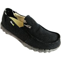 Shoes Men Loafers Hey Dude Farty Chalet Black Felt