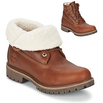 Shoes Men Mid boots Timberland ROLL TOP L/F AF Glazed / GINGER / Fur