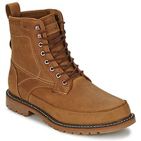 Shoes Men Mid boots Timberland 6IN MIXED MEDIA WP Red / Oiled