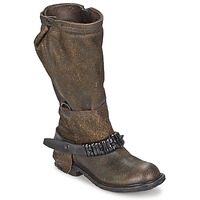 Shoes Women High boots Airstep / A.S.98 RINETTE Brown