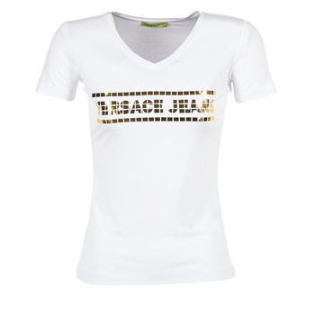 Clothing Women short-sleeved t-shirts Versace Jeans B2HPA7GC White