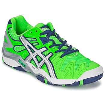 Shoes Men Tennis shoes Asics GEL-RESOLUTION 5 Green / Blue