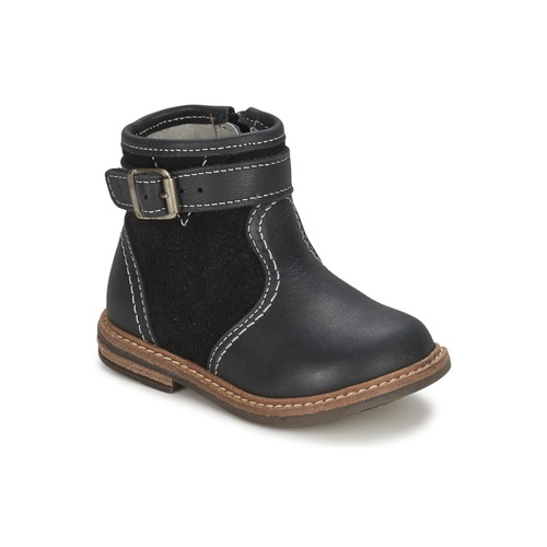 Shoes Boy Mid boots Citrouille et Compagnie LOOPI Black