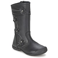 Shoes Girl High boots Citrouille et Compagnie AMATIS Black