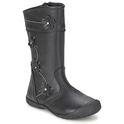 Shoes Girl High boots Citrouille et Compagnie AMATIS Black