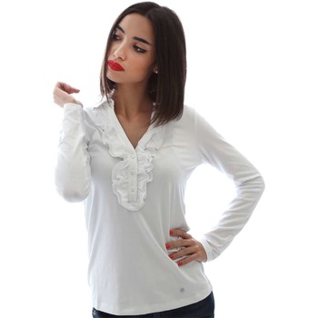 Clothing Women Long sleeved tee-shirts Nero Giardini A661380D T-shirt Women White White