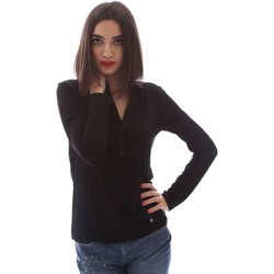 Clothing Women Long sleeved tee-shirts Nero Giardini A661380D T-shirt Women Black Black