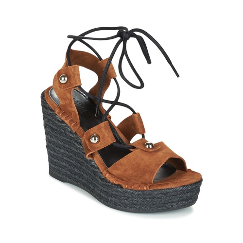 Shoes Women Sandals Sonia Rykiel 622908 Tabacco
