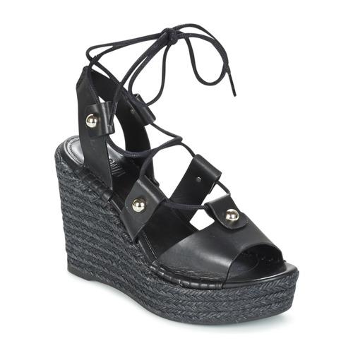 Shoes Women Sandals Sonia Rykiel 622908 Black