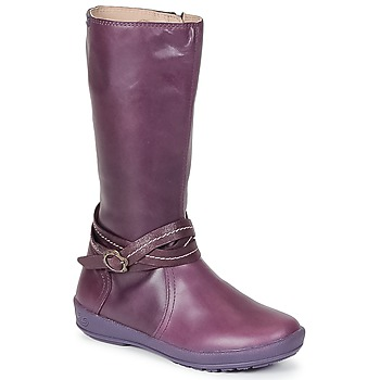 Shoes Girl High boots Garvalin TARDA Mauve