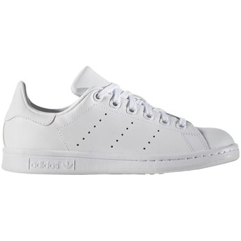 Shoes Boy Low top trainers adidas Originals Stan Smith White