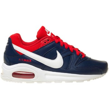 Shoes Boy Low top trainers Nike Air Max Command Flex Ltr Navy blue-White-Red