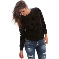 Clothing Women jumpers Y Not? Y17AI116 Sweatshirt Women Black Black