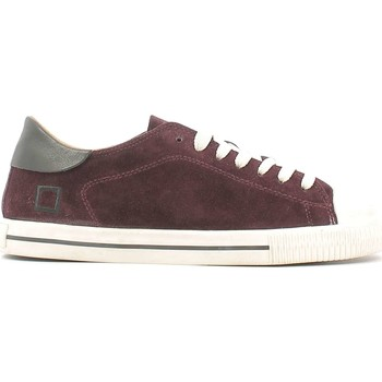 Shoes Men Low top trainers Date D.a.t.e. A251-NE-VE-BX Sneakers Man Bordeaux Bordeaux