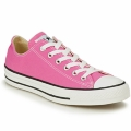 Shoes Women Low top trainers Converse ALL STAR CORE OX Pink