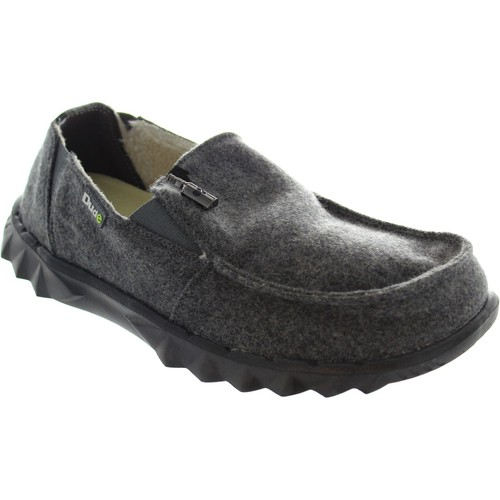 Shoes Men Loafers Hey Dude Farty Chalet Grey felt