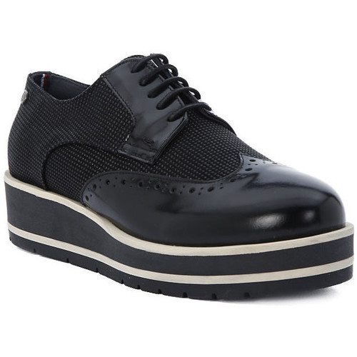 Shoes Women Derby Shoes Tommy Hilfiger DANY Nero