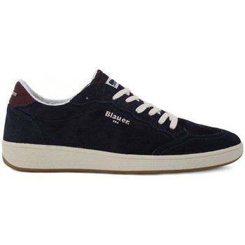 Shoes Men Trainers Blauer SNEAKER LOW SUEDE    104,1