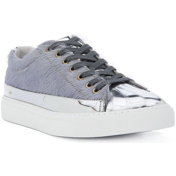 Shoes Women Trainers Blauer HORSE SNEAKER Multicolore