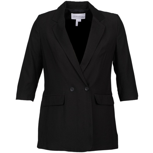 Clothing Women Jackets / Blazers BCBGeneration ISABEL Black