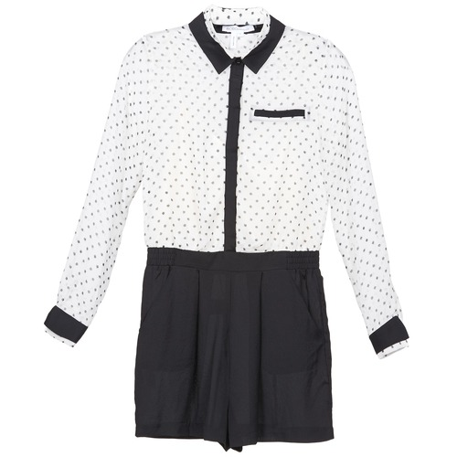 Clothing Women Jumpsuits / Dungarees BCBGeneration ANITA White