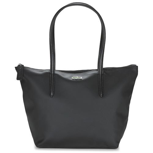 Bags Women Shopping Bags / Baskets Lacoste L.12.12 CONCEPT S Black