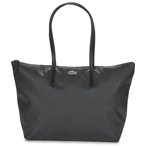 Bags Women Shopping Bags / Baskets Lacoste L.12.12 CONCEPT L Black
