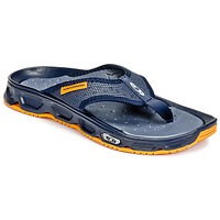 Shoes Men Flip flops Salomon RX BREAK Blue / Orange
