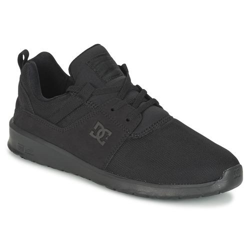 Shoes Men Low top trainers DC Shoes HEATHROW M SHOE 3BK Black