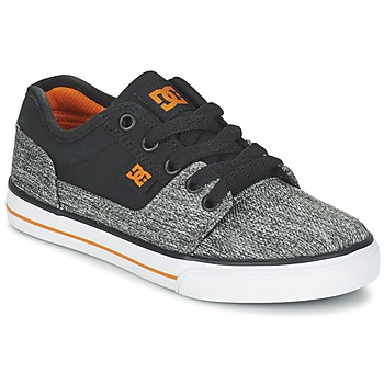 Shoes Boy Low top trainers DC Shoes TONIK TX SE B SHOE BGY Black / Grey