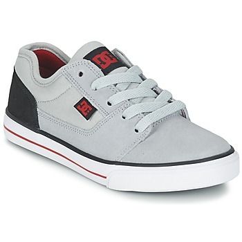 Shoes Boy Low top trainers DC Shoes TONIK B SHOE XSKR Grey / Black / Red