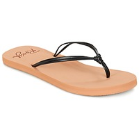 Shoes Women Flip flops Roxy LAHAINA J SNDL BLK Black