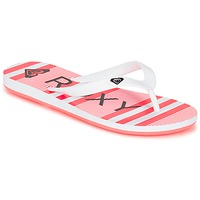 Shoes Girl Flip flops Roxy RG TAHITI V G SNDL WBD White / Black / Red