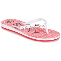 Shoes Girl Flip flops Roxy RG PEBBLES V G SNDL BRE Red