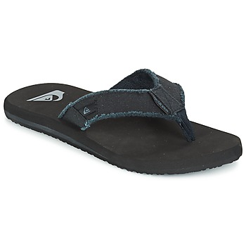 Shoes Men Flip flops Quiksilver MONKEY ABYSS Black