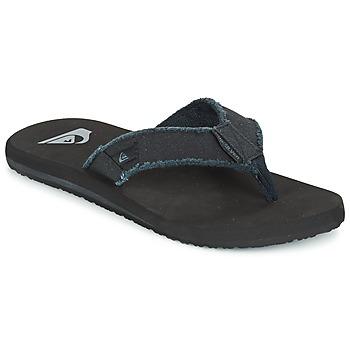 Shoes Men Flip flops Quiksilver MONKEY ABYSS Black