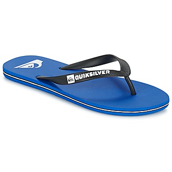 Shoes Men Flip flops Quiksilver MOLOKAI Black / Blue / White