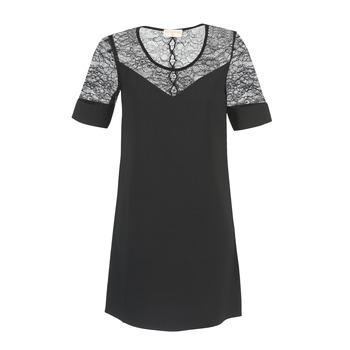 Clothing Women Short Dresses Moony Mood FUFU Black