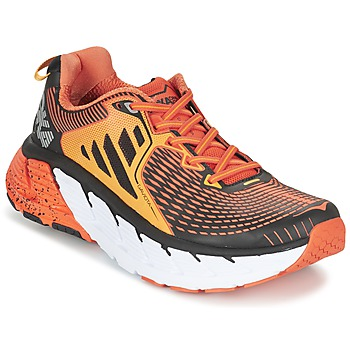 Shoes Men Running shoes Hoka one one GAVIOTA Orange / Black