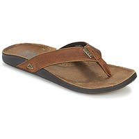 Shoes Men Flip flops Reef REEF J-BAY III Camel