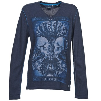 Clothing Men jumpers Le Temps des Cerises BREG Blue