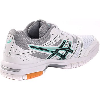 Shoes Women Low top trainers Asics Gelrocket 7 Green-White