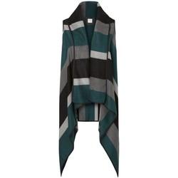 Clothing Women Jackets / Cardigans Vero Moda - Women Doris Stripe Ethnic Waistcoat Green