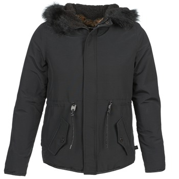Clothing Women Parkas Le Temps des Cerises AMITY Black