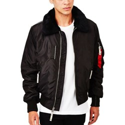 Clothing Men Jackets Alpha Industries Injector III Jacket Black Black