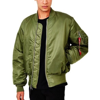 Clothing Men Jackets Alpha Industries Classic MA1 Vintage Fit Bomber Jacket Sage Green Green